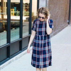 ASOS 100% Cotton Plaid Dress